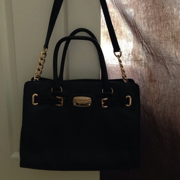 mk bags wholesale michael kors black purse with gold chain