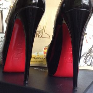 Christian Louboutin Shoes - Authentic Christian Louboutin Lady Peep 150mm 36.5 3