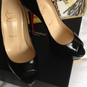 Christian Louboutin Shoes - Authentic Christian Louboutin Lady Peep 150mm 36.5 1