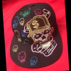 KBETHOS Accessories - KBETHOS ORIGINAL SKULL CAP W/BLING
