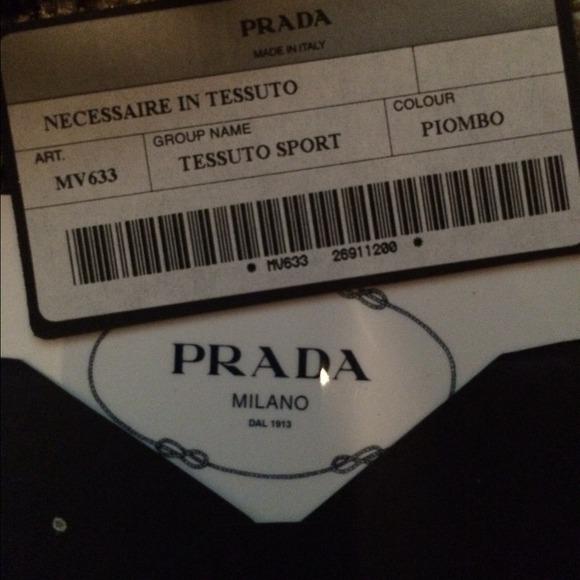 prada authentic handbag