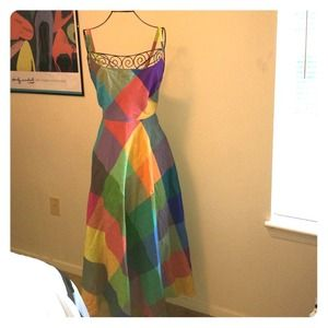 Liz Claiborne Dresses & Skirts - Rainbow sun dress