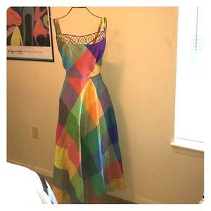 Liz Claiborne Dresses & Skirts - Rainbow sun dress