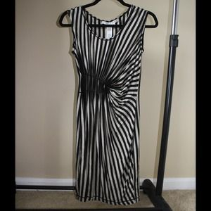 Striped Max Studio Dress