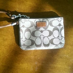 coach Handbags - Wristlet medium