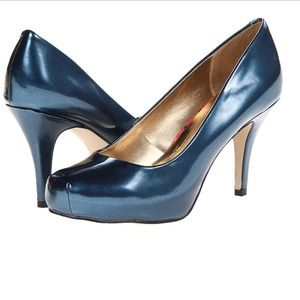 Madden Girl Shoes - Madden Girl Navy Heels