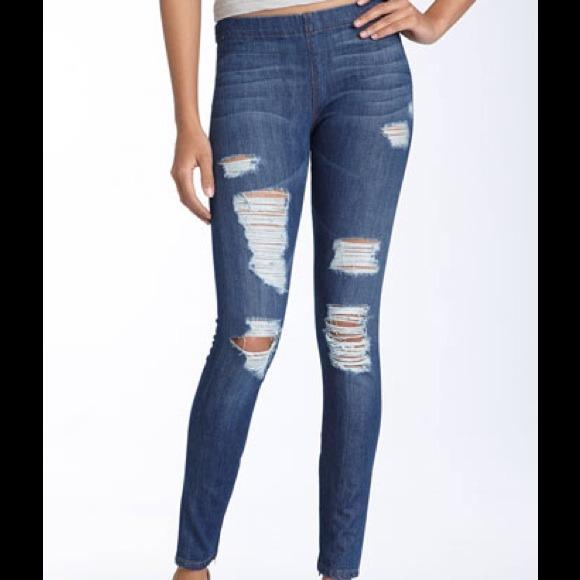 fc1b67f2728212 Joe's Jeans Jeans | 398 Joes Jeggings Ripped Denim Leggings Nwt ...