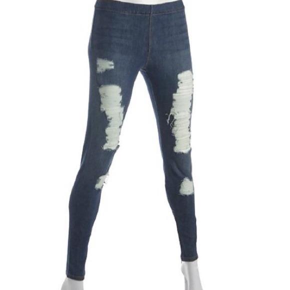 72% off Joe's Jeans Denim - $398 Joes jeggings jeans ripped denim ...