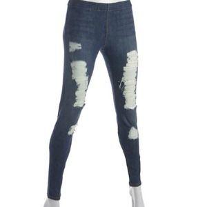 bde76a4939d33d Joe's Jeans Jeans - $398 Joes jeggings jeans ripped denim leggings NWT