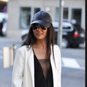 c81f12bbc83ff ASOS Accessories - Asos baseball cap. Burgundy Maroon faux leather