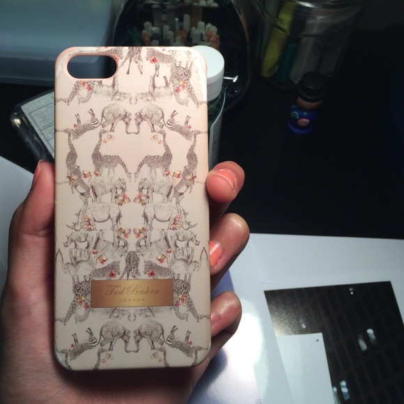 0a8a5f81992a Ted Baker Accessories - Ted Baker Safari Animal Print iPhone 5 5S Case