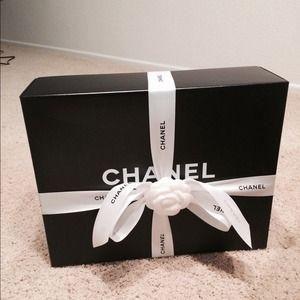 45fdba37c8e6ff CHANEL Other   Authentic New Bag Box Medium Shopping Box   Poshmark