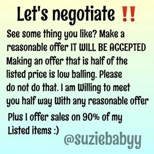 Other - Negotiating
