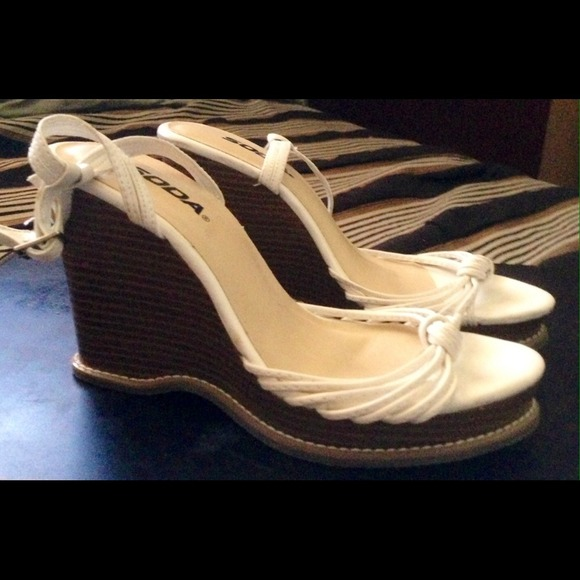 67 soda shoes white soda wedges from valarie s
