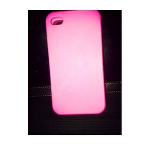 Iphone4/4s pink case