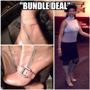 "2-Piece ""BUNDLE"" Deal!!! Dress & Boots."