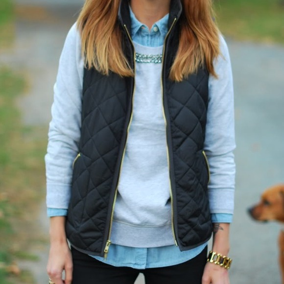 Old Navy Old Navy Black Quilted Barn Vest From Meghan S