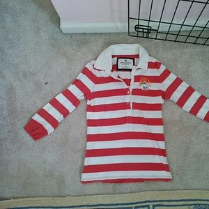 Abercrombie Other - Red striped Abercrombie shirt