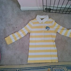 Abercrombie Other - Yellow striped Abercrombie shirt
