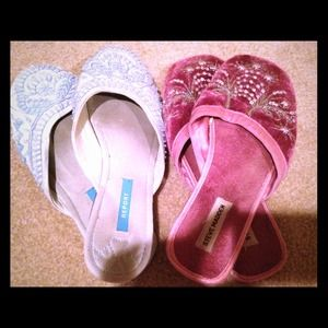Report & Steve Madden bundle slippers house shoes