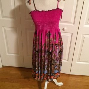 Multi-Colored Sundress - Size Small