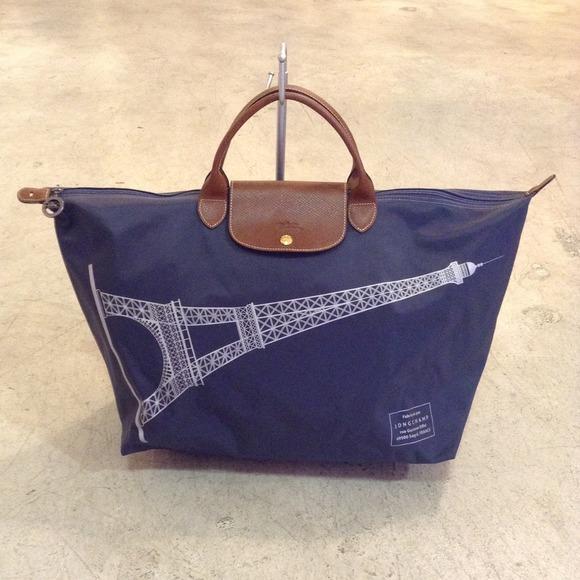 609b865adf4a Longchamp Handbags - Longchamp Eiffel Tower Bag