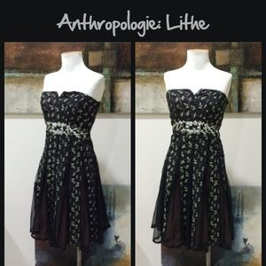 "Anthro ""Champagne Cocktail Dress"" by Lithe"