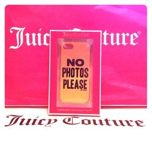 💯%Auth JUICY COUTURE Ombré iPhone5/5s Case