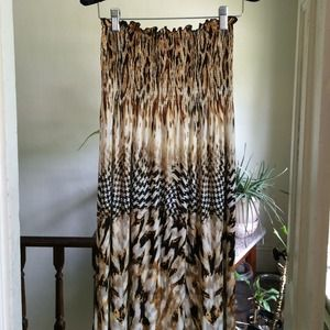 🌻 SALE 🌻 Boho Maxi Dress Sz Med