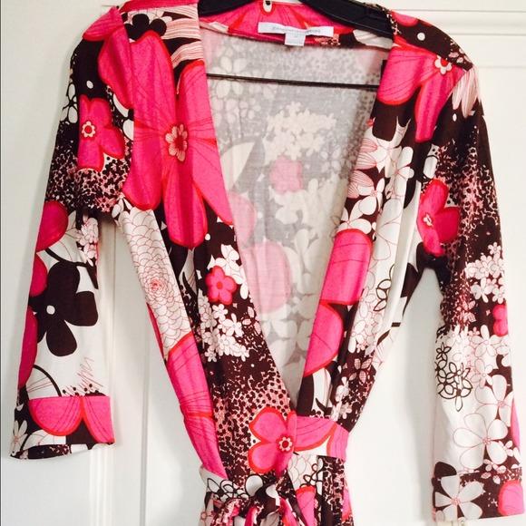 Dvf Wrap Dress Size 14 DVF wrap dress size NWT