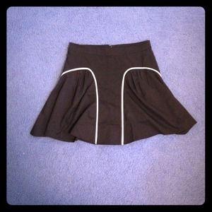 Urban Outfitters Black Skater Skirt
