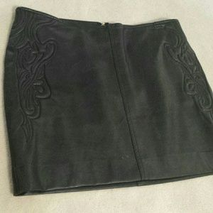 Guess leather skirt