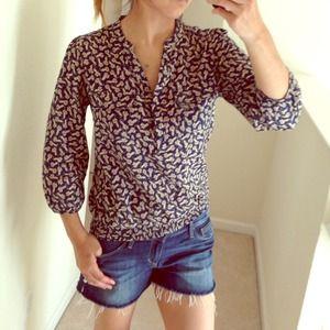 SOLD!!! Cat print blouse