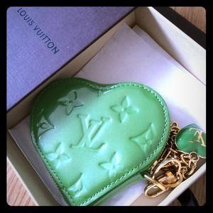 Authentic Louis Vuitton Heart Coin Purse