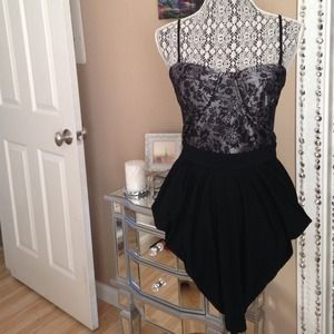 Sexy laced dress