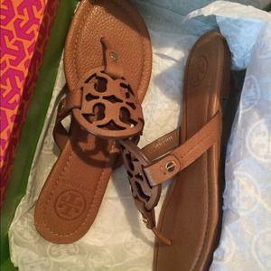 ce5eb86de7d61 new zealand tory burch shoes tory burch miller sandal royal tan 7.5 064d6  2a2db