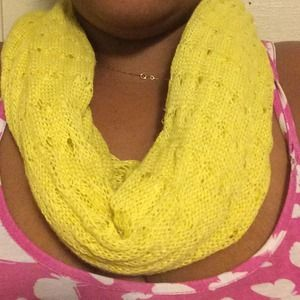 Accessories - Yellow scarf light weight great for any season