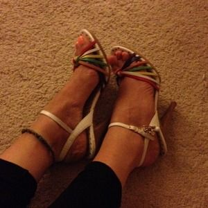Betsey Johnson Shoes - Brand new colorful Betsey heels