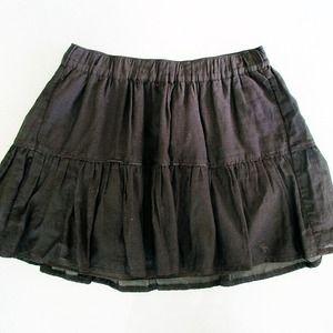 Abercrombie & Fitch Skirts - Black skater skirt