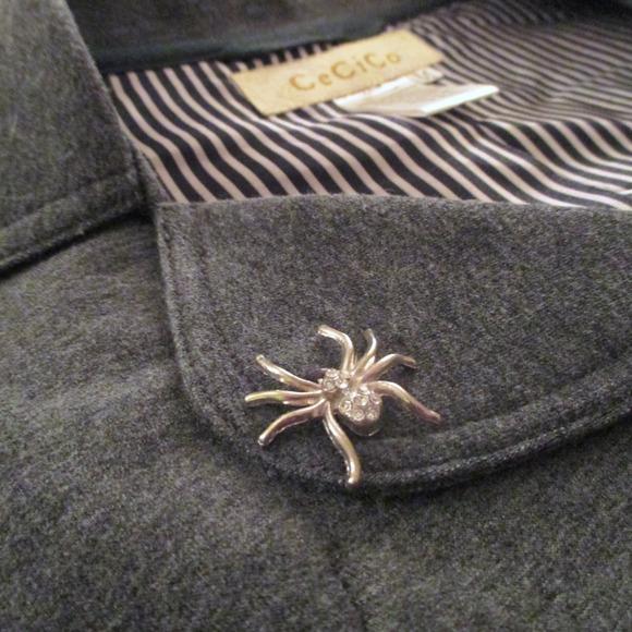 Jackets & Coats - Grey cropped blazer
