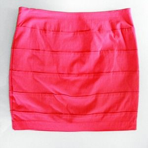 Dresses & Skirts - Watermelon mini skirt