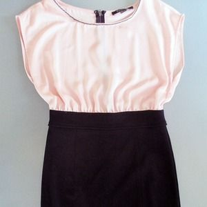 Forever 21 Dresses & Skirts - Pink and black dress