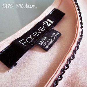Forever 21 Dresses - Pink and black dress