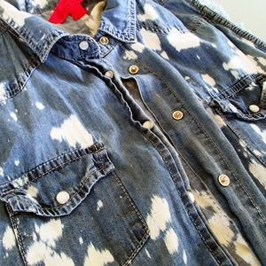 Jackets & Coats - Distressed denim vest