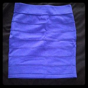 Royal blue pencil skirt! Only worn once!