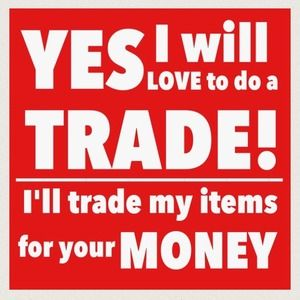 Handbags - 😆  I will Trade my Items for Your Money!  😀❤️