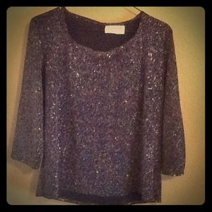 Tops - Glittery Formal Top