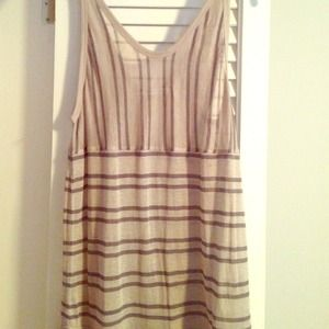 T Alexander Wang striped tank