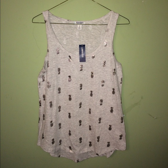 Old Navy Tops - Pineapple Print Tank top