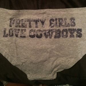270c6486cf Victoria s Secret Accessories - PINK Dallas Cowboys Panty Bundle